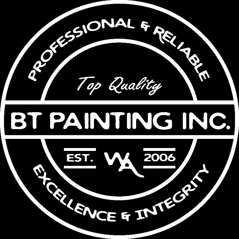 BT Painting Inc. Logo